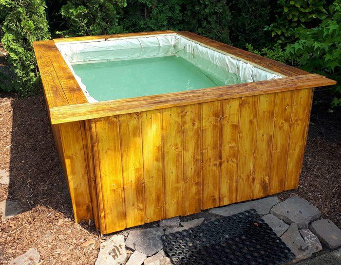 Paletten Pool – Bauanleitung